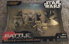 STAR WARS BATTLE ABOVE THE SARLACC BATTLE PACK MIB SEALED RETURN OF THE JEDI MIB