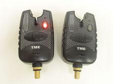 2 x Carp AVVISATORI-Rosso Corsa LED's, Dropbacks, Jack 2.5 mm, led di aggancio