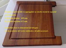 Tagliere copri-lavello compatibile per vasche  410 quadrate e rettangolari