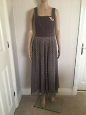 pinafore Pleated dress Size 8