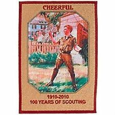 RARE BOY SCOUT LAW CHEERFUL HY HINTERMEISTER  COLLECTOR PATCH 100TH ANNIVERSARY