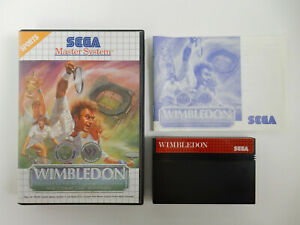 Wimbledon für Sega Master System - PAL - OVP - CIB - Komplett !