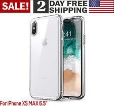iPhone Ten XS Max Case Shock Absorbing TPU Premium Crystal Transparent Cover