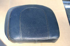 Used Rear Backrest Pad Black Pillow Style Sissy Bar Quality Chopper Custom U-939