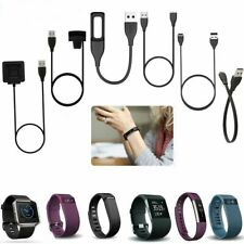 USB Charger Cable Charging FitBit Charge 2 3 4 Blaze Ionic Versa Inspire HR ACE2