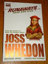 RUNAWAYS MARVEL PREMIERE HARDBACK DEAD END KIDS JOSS WHEDON < 9780785128533