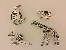 Schleich 82802 - 82805 Zebramuster limitiert Ferkel Pinguin Giraffe Känguru