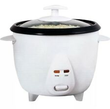 NON STICK RICE COOKER AUTOMATIC ELECTRIC POT WARMER FAST MAKER EASY CLEAN LARGE