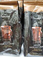New listing Hazelnut Cream Flavored Ground Coffee 12oz. 2 packs.