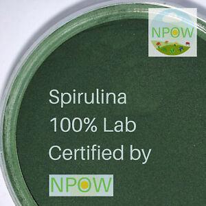 Spirulina Powder (Organic) by NPOW™ - 50g CAS 724424-92-4