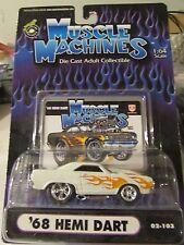 Muscle Machines '68 Hemi Dart 02-103 White