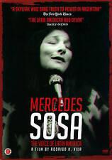 Mercedes Sosa: The Voice of Latin America (DVD, 2014)(Card Board Sleeve)