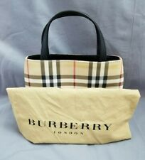 Burberry Small PVC Nova Check Tote Bag