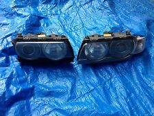 Xenon Headlights Headlamps Left Right Pair Set E38 Trim Ballast Bulbs Ballasts