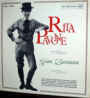 RITA PAVONE LP RCA  I° STAMPA '65 GIAN BURRASCA OST ( ENRIQUEZ-ROTA WERTMULLER )