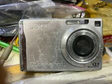 SONY CYBERSHOT DSCW200 12.1 MP DIGITAL  CAMERA WITH 3X OPTICAL ZOOM AND SUPERB S