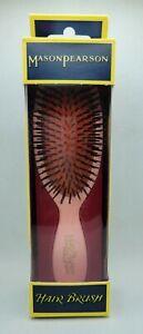Mason Pearson B4 Pink Bristle Pocket Hair Brush NIB Authentic *** US SELLER ***
