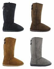 Women's Ella Dora Faux Sheepskin Look Fur Lined Warm Boots