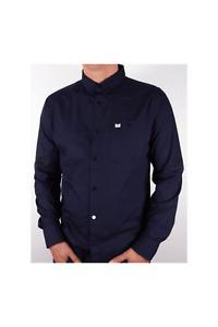 WEEKEND OFFENDER Karoo Navy Shirt