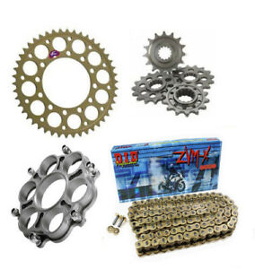 Ducati Superbike 848 2008 - 2012 Renthal DID Chain & Sprocket Kit With Carrier