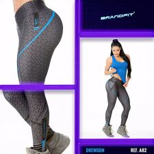 New Brandfit Colombian Sports Wear Working Out Pants Gym Leggings Fiber Buttlift