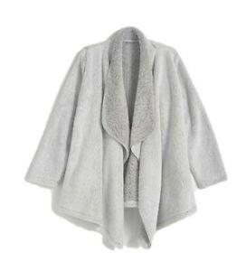 AVON Grey Waterfall Lounge Jacket Medium Size UK 12/14. Christmas Gift