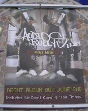 AUDIO BULLYS Ego War  promo poster 30 x 20 2002