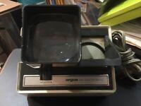 VINTAGE ~ Argus 693 Electromatic 35 MM Slide Viewer ~ Works