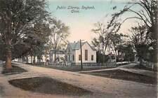 SAYBROOK, CT ~ PUBLIC LIBRARY ~ DANZIGER & BERMAN, PUB. ~ c. 1910s