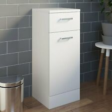330mm Bathroom Laundry Unit Cabinet White Gloss Soft Close Door Modern Furniture