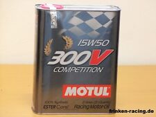 12,85 €/L MOTUL 300v 15w-50 Competition 2 L.