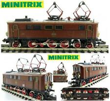 MINITRIX 2910 VINTAGE ELECTRIC LOCOMOTIVE Ep.2a Sr.EP20104 Kbay StsB BOX SCALA-N