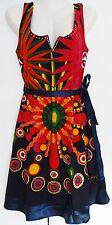New Desigual Ladies Dress'RAILEY'Sleeveless, Multi, Size S
