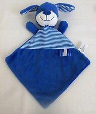 NICOTOY  DOUDOU PLAT chien bleu et blanc Simba Neuf
