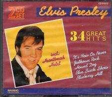 Elvis Presley  34 Great Hits / 2CD-BOX
