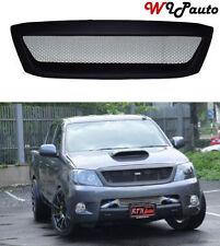 Front Net Grill Grille Black for Toyota Hilux Pickup Kun Sr5 Mk6 Vigo 05-11