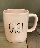 Rae Dunn - GIGI - LL PINK Ceramic Mug - Coffee Tea
