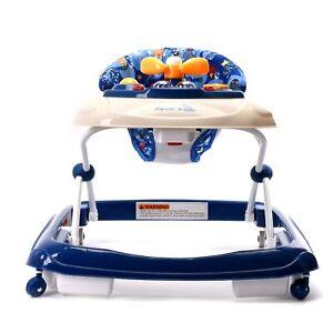 WonderBuggy Baby Walker, Foldable Activity Walkers Helper, Adjustable Height