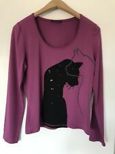 Blacky Dress Berlin 🌸 Top Size M (10-12)