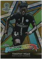 2018-19 Topps Chrome UEFA Future Stars Refractor Gold /50 #FS-TW Timothy Weah