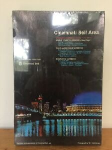 New Sealed Vtg 1978 Cincinnati Bell Area By Night 500 Piece Color Puzzle 13x20