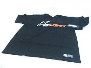 New AlpineStars TechStar Championship Tee Size Large Black Short Sleeve T-Shirt