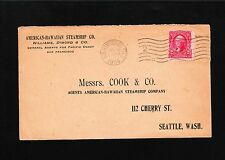 American Hawaiian Steamship Co San Francisco 1904 Preprint Mssrs Cook Cover 9u