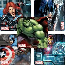Avengers Stickers x 5 - Birthday Party - Favours - Loot Ideas - Avengers Marvel