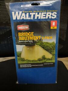 N scale bridge kits Walthers & Microengineering & others