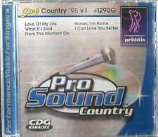 Priddis Pro Sound 1290G Sing Country '98  v.1 Karaoke I Can Love You Better