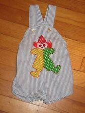 VTG NEW Toddle Time JC Penney Clown Sun Suit/Romper Size 1/2 (6 months)