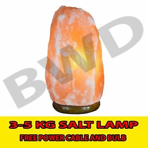 Large 3-5 KG Natural Therapeutic Himalayan Rock Crystal Salt lamp