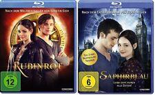 2 Blu-rays *  RUBINROT + SAPHIRBLAU im SET ~ Teil 1 + 2 # NEU OVP $