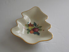 "Lenox ""Holiday"" Small Tree Shaped All-Purpose Dish - Usa"
